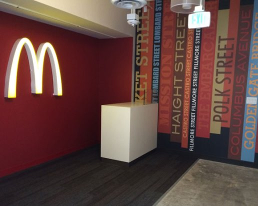 McDonald's tech office not in Mid-Market