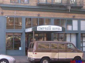 Empress Hotel is installing new elevator