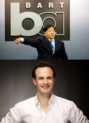 BART Board incumbent James Fang and challenger Nicholas Josefowitz