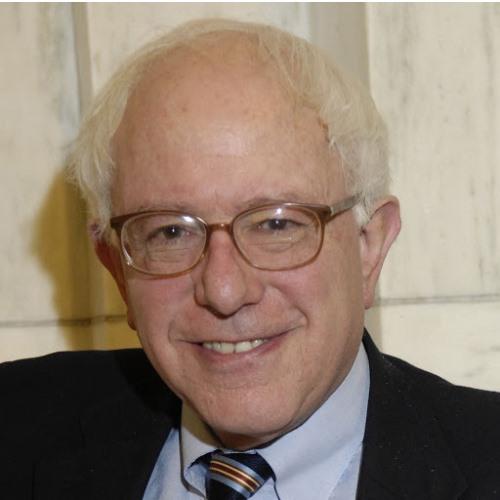 Senator and former Burlington, VT Mayor Bernie Sanders