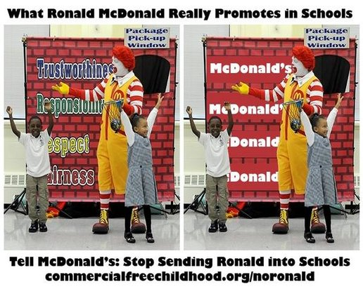 unethical mcdonald -unethical ingredients ronald mcdonald was the fast-food mascot of the mcdonald's industry, used to represent mcdonald's as a company, and appeal to the young .