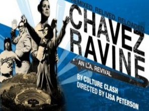 """A play by Culture Clash depicting the """"Battle for Chavez Ravine"""" is showing at the Kirk Douglas Thtr.(click- enlarge photos)"""