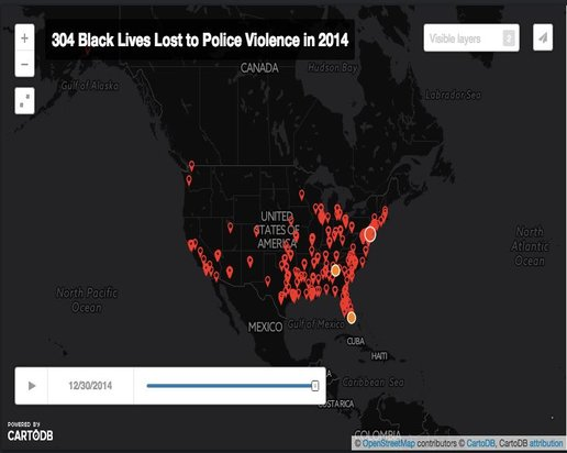 The National Police Violence Map