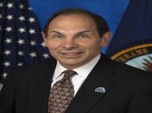 Secretary of the Department of Veterans Affairs Robert A McDonald