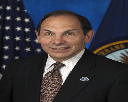 Secretary of the Department of Veterans Affairs Robert A McDonald