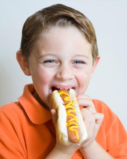 child-hot-dog