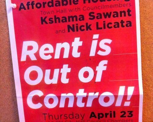 Seattle is pushing to repeal statewide rent control ban