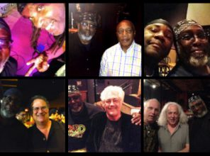 Clockwise: Futureman, Billy Cobham, Lenny White, David Torn, Larry Coryell, George Brooks