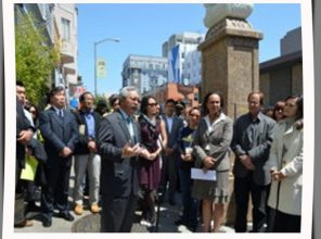 Mayor Lee Launches Invest in Neighborhood program in 2012 using LIttle Saigon as the backdrop