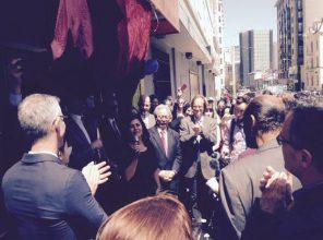 826 Valencia's Bita Nazarian announcing new space at GGate/Leavenworth