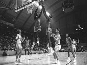 Texas Western beats University of Kentucky in 1966 NCAA championship game