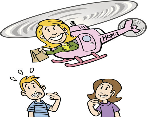 Helicopter Mom With Kids