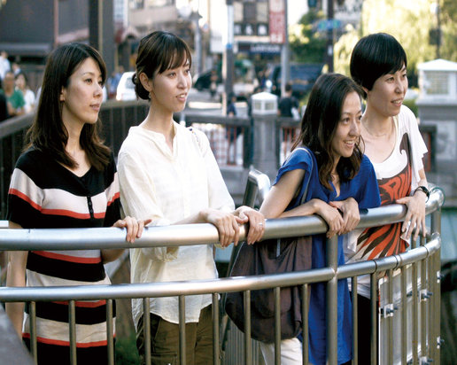 A scene from Ryûsuke Hamaguchi's HAPPY HOUR, playing at the 59th San Francisco International Film Festival, April 21st - May 5th, 2016.