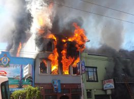 The recent 29th Street and MIssion fire