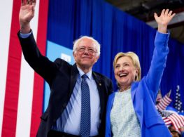 Sanders and Clinton Show Democratic Unity