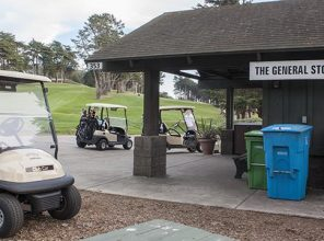 Drinking and driving allowed on Presidio Golf Course