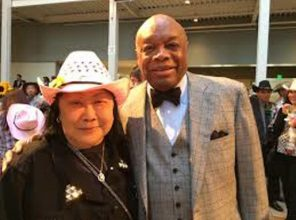 Rose Pak with her close friend and political ally, Willie Brown
