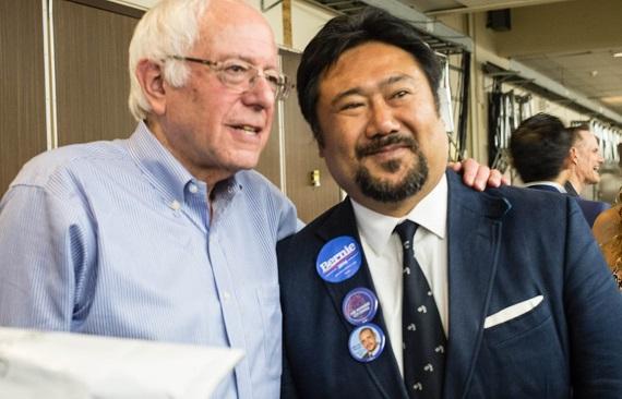 Bernie Sanders and Ben Choi