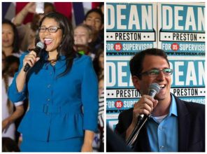 The D5 race between London Breed and Dean Preston has been city's most substantive