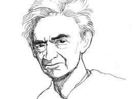 Howard Zinn, by Fernando Marti