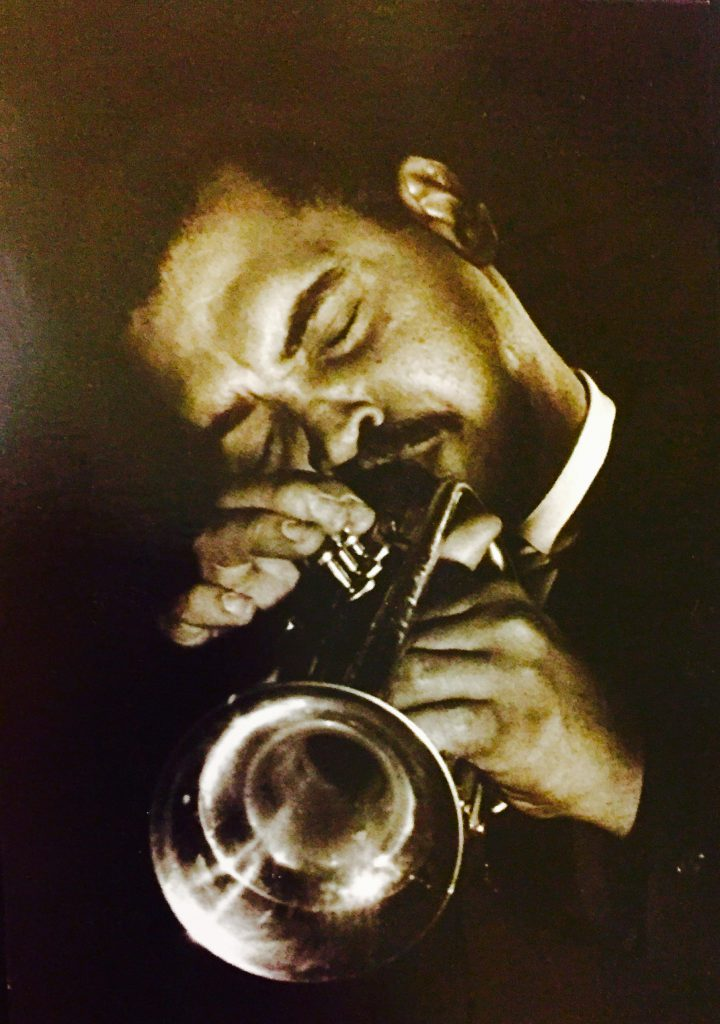 Art Farmer at the Blackhawk, 1962 (photo by Robert Sleadd)
