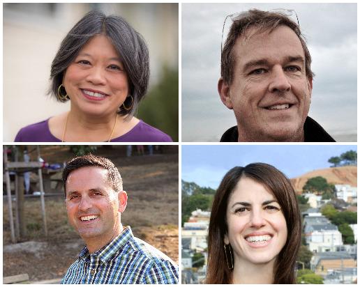 SF's Four New Supervisors