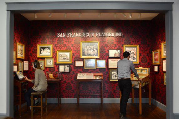 Exhibits in the Tenderloin Museum