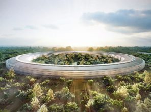 Apple's Cupertino campus