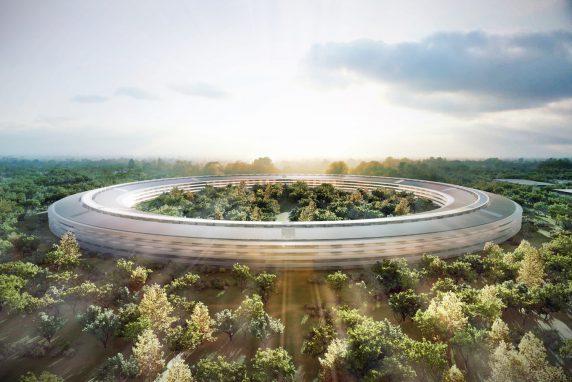 Apple's Cupertino campus