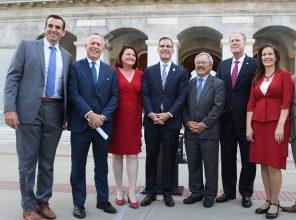 Mayors Met With Gov. Brown